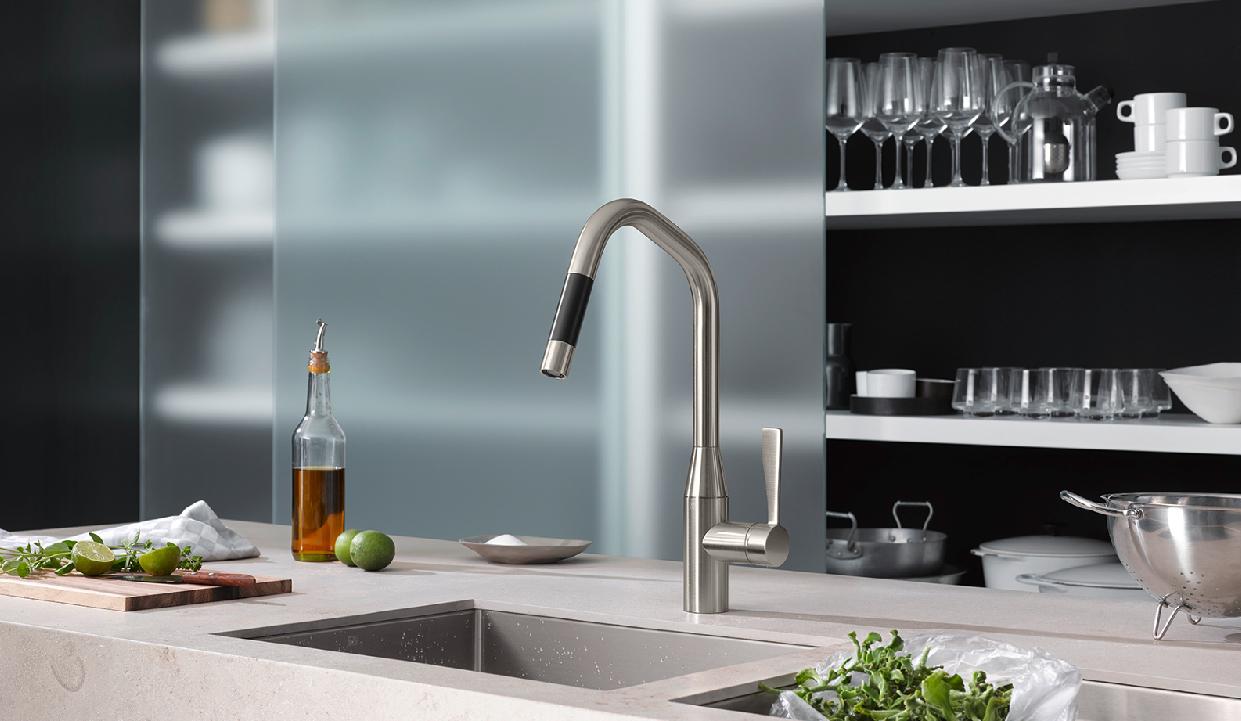 Magnificent Kitchen Faucet Design Crest - Faucet Collections ...
