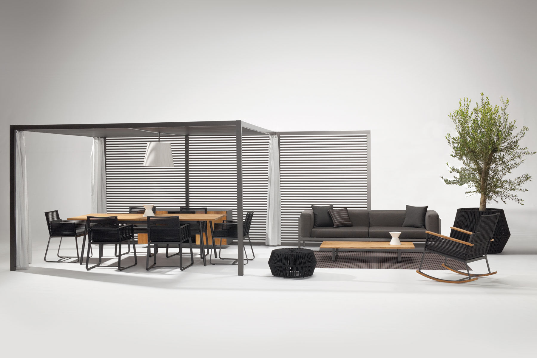 kettal pavilion furniture outdoor collections colourliving